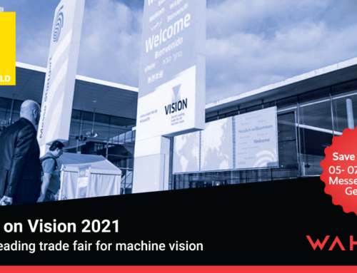 Visit us on Vision 2021 – World´s leading trade fair for machine vision